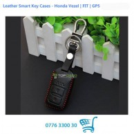 Leather Smart Key Cases - Honda Vezel / FIT / GP5