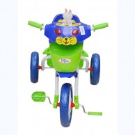 Kids Cat Face Little Angel Blue Tricycle 13000173