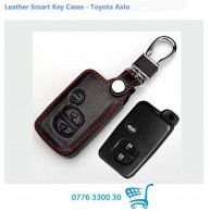 Leather Smart Key Case - Toyota Axio