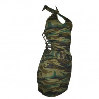 Camouflage Stretchable Costume BB977