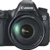 CANON EOS 6D DSLR CAMERA WITH 24 105MM F4L LENS