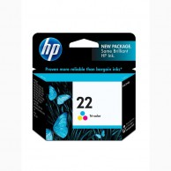 HP 22 Tri-color Original Ink Cartridge C9352AA
