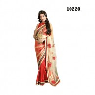 New Net Pallu Saree 10220