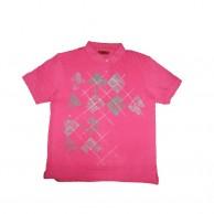 Pink Color Short Sleeve Tshirt