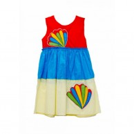 Multi Color Girl Dress