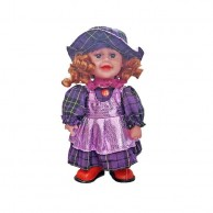 Dancing Doll Purple with Hat