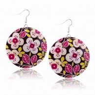 Women's Flowers Shell Earrings