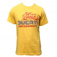 Ducati T-Shirt for Men Yellow