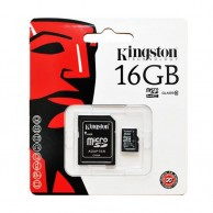 Kingston 16 GB Class 10 Microsd Hc Flash Card