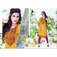 KAYA BRAND  Zara vol 09 REYON COTTON MATERIALS  Kurtha Tops design 02