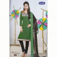 Holiday Cotton Embroidered Shalwar Material 001