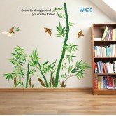 Wall sticker-Bamboo Trees