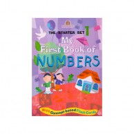 My First Book Of Numbers Starter Set1 B320991