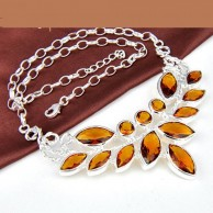 Citrine Women Necklace