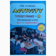 Pre-School Activity Workbook-2 For Montessori Classes L230078