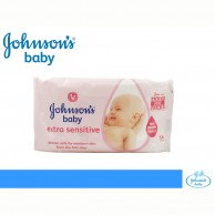 Johnson's Extra Sensitive Baby 56 wipes