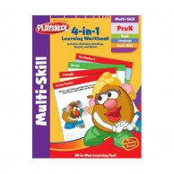 Pre K 4 In 1 Multi Skill Workbook 11761G