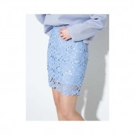 Lace Embroidered High Waist Hollow Package NIS120