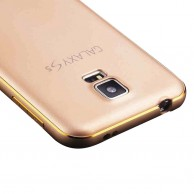 Metal Bumper Back Case for Samsung Galaxy S5