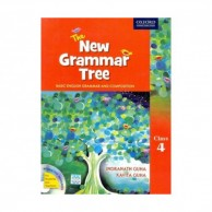 The New Grammar Tree Class-4 with CD B031348
