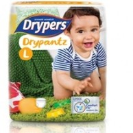 Drypers Baby Diapers DryPantz LARGE 36 pcs