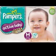 Pampers Active Baby Medium 42pcs