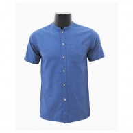 Men's Navy Blue Shirt C-SF0146SS283