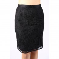 Lacy Black Skirt AVSK100052