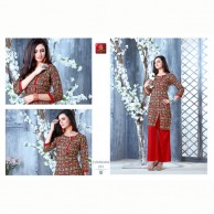 Chandani Kurtha Tops  Cotton Material ID 201