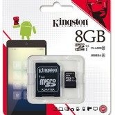 Kingston 8GB Memorycard Class10