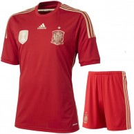 Spain Football Jersey And Short