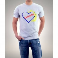 White Colombo Love TShirts