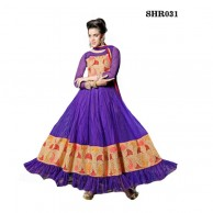 Riya Purple Anarkali Salwar SHR031