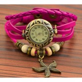 Starfish Weave Bracelet Watch LW003